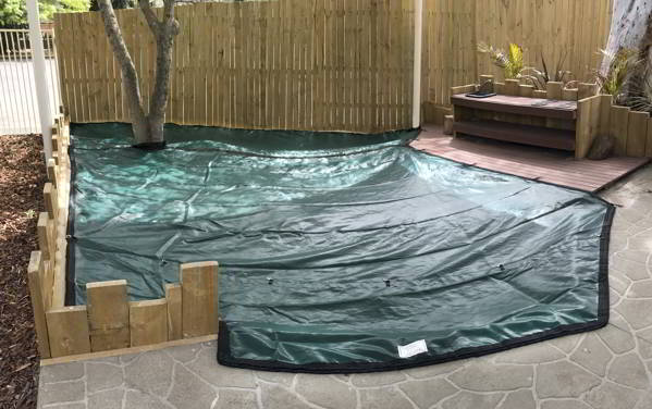 Custom made Sandpit Cover