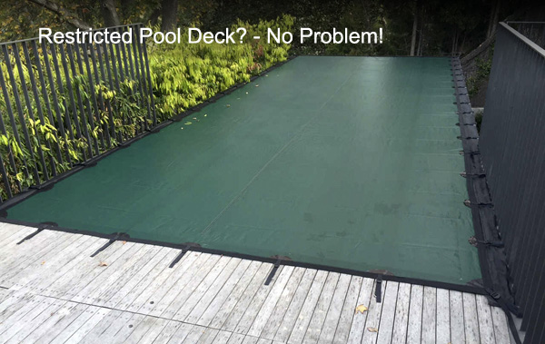 Leaf Cover on Above Ground Pool