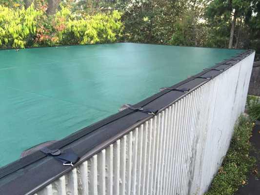 Pool Leaf Covers for Infinity Vanishing Wet Edge Pools