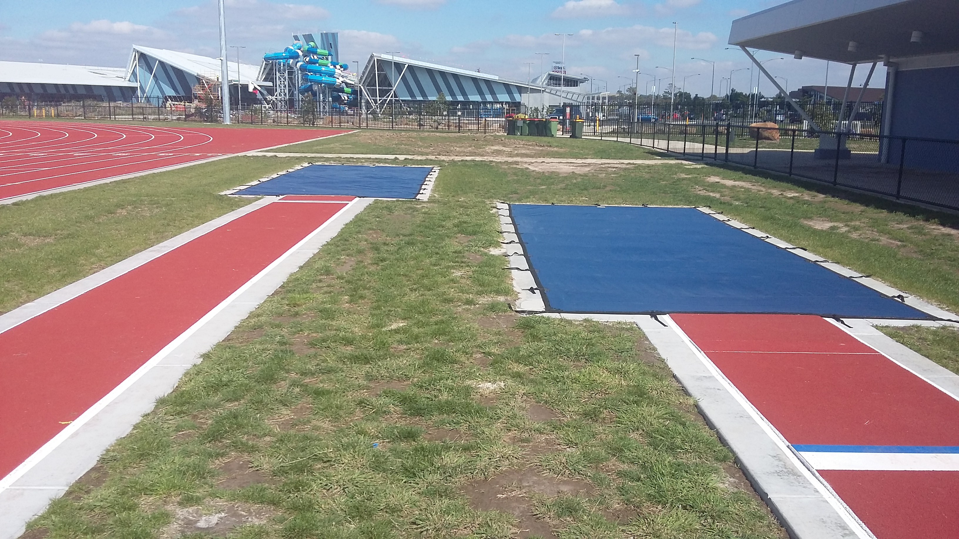 Long Jump Covers