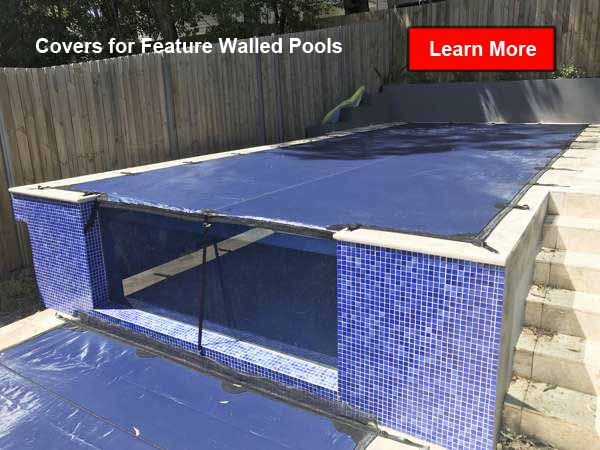 Sydney split-level pool and spa cover