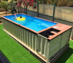 discover the benefits of a container pool just covers. Black Bedroom Furniture Sets. Home Design Ideas