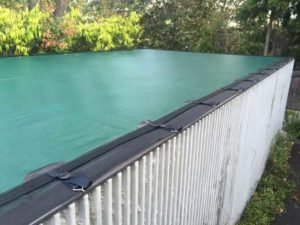 Infinity Edge Pool Cover 1 Just Covers
