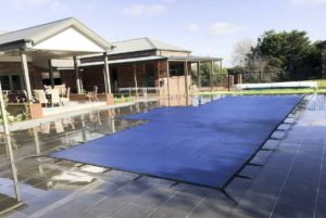 Melbourne Blue Leaf Pool Cover Just Covers